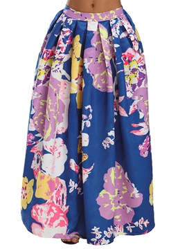 Ericdress Ankle-Length Print Women's Skirt