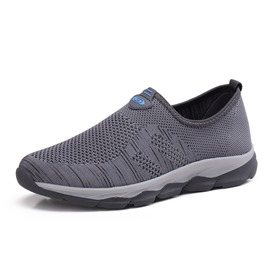 Ericdress Mesh Round Toe Low-Cut Slip-On Men's Sneakers