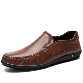 Ericdress Professional PU Thread Round Toe Men's Shoes