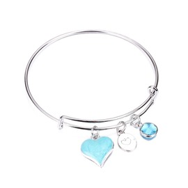 Ericdress Heart Crystal Bracelet