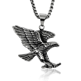 Ericdress Eagle Titanium Steel Necklace