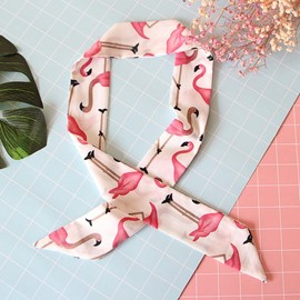 Ericdress Flamingo Hair Band Bad Scarf