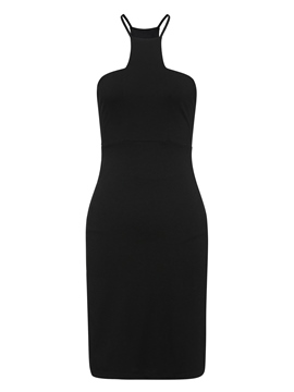 Ericdress Square Neck Pullover Single Bodycon Dress