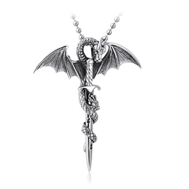 Ericdress Dragon Men's Necklace