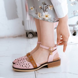 Ericdress Sewing Hollow Ankle Strap Pumps