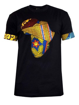 Ericdress Asymmetical Pattern Printed Mens T Shirts