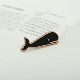 Ericdress Whale Tie Clip