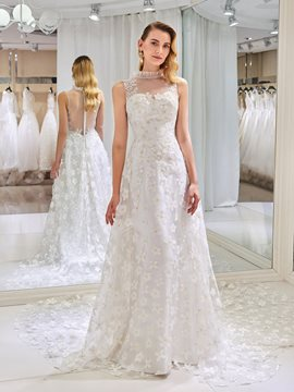 Ericdress Lace A Line Wedding Dress