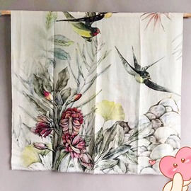 Ericdress Chinese Style Landscape Shawl Silk Scarf
