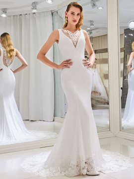 Ericdress Sexy Mermaid Wedding Dress