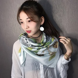Ericdress Silk OL Square Scarf