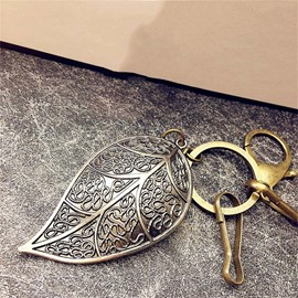 Ericdress Leafage Alloy Key Ring