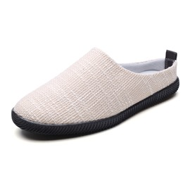 Ericdress Canvas Slip-On Plain Round Toe Men's Casual Shoes