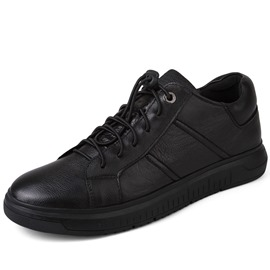 Ericdress PU Elastic Band Plain Low-Cut Men's Sneakers