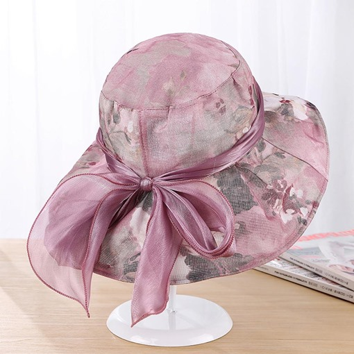 Ericdress Wide Brim Cotton Sun Hat