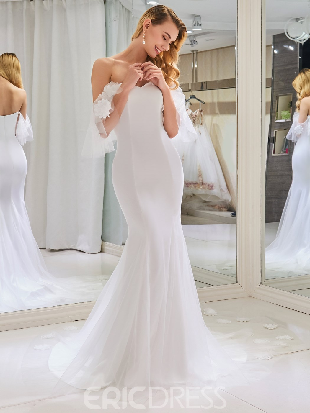 Ericdress Sweetheart Mermaid Wedding Dress