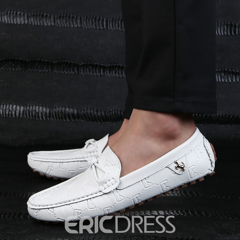 Ericdress Plain Slip-On Round Toe Men's Casual Shoes
