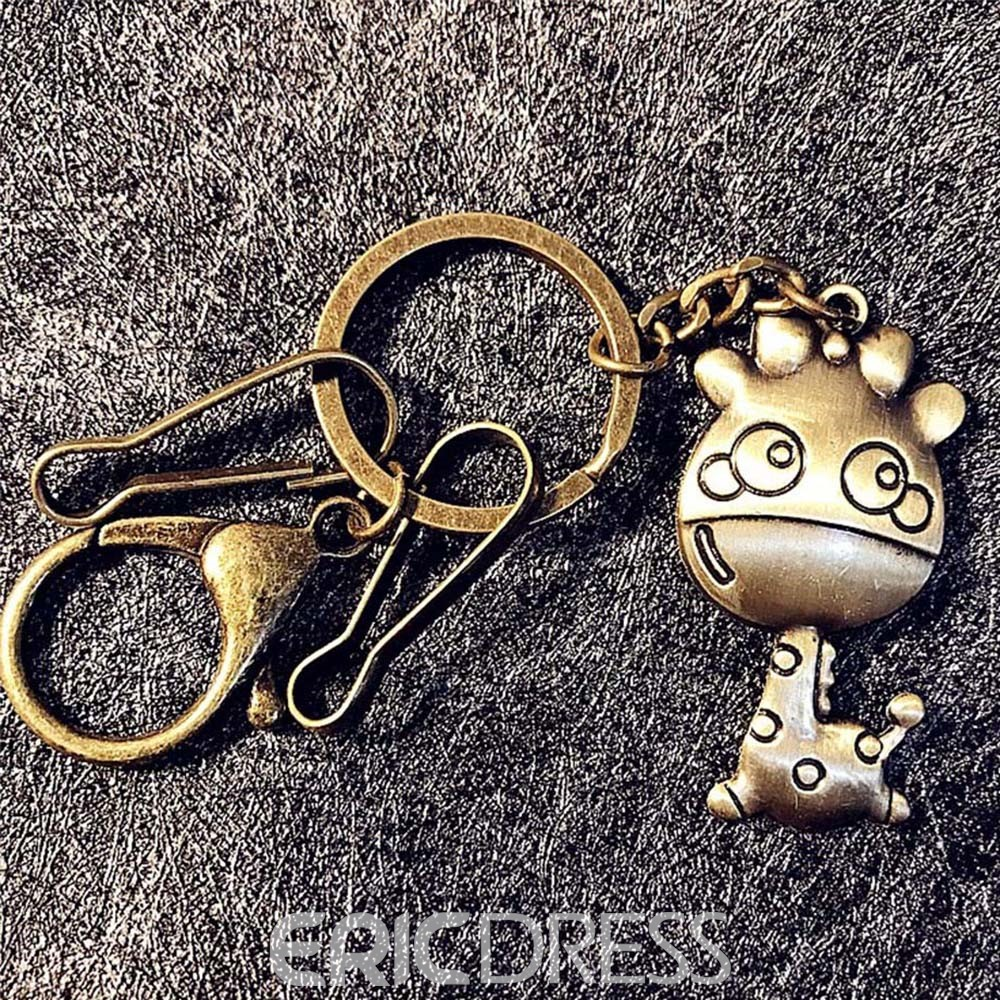 Ericdress Giraffe Key Ring