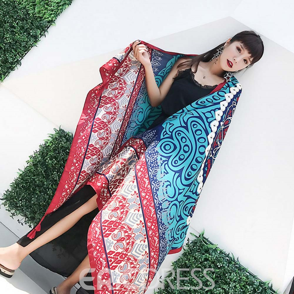 Ericdress Linen Female Scarf