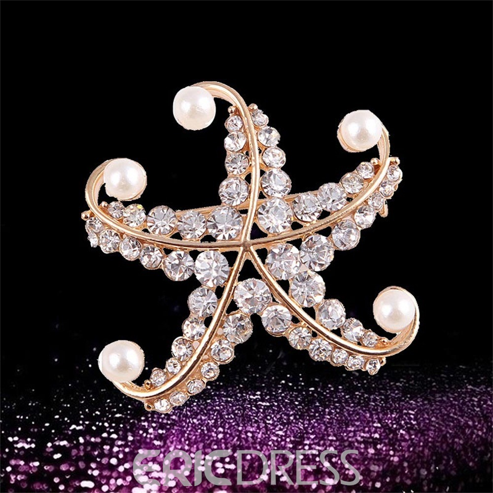 Ericdress Pearl&Diamanted Brooches