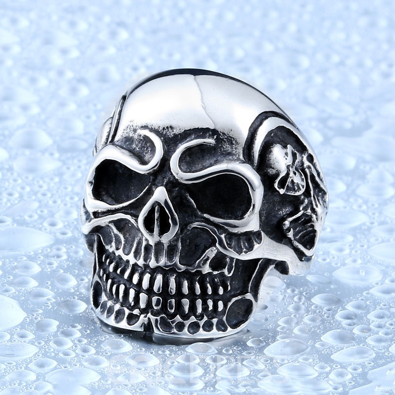 Ericdress Skull Men Ring