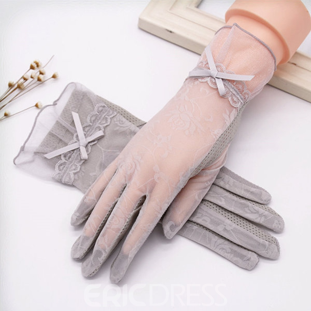 Ericdress Lace Sun Protection Gloves