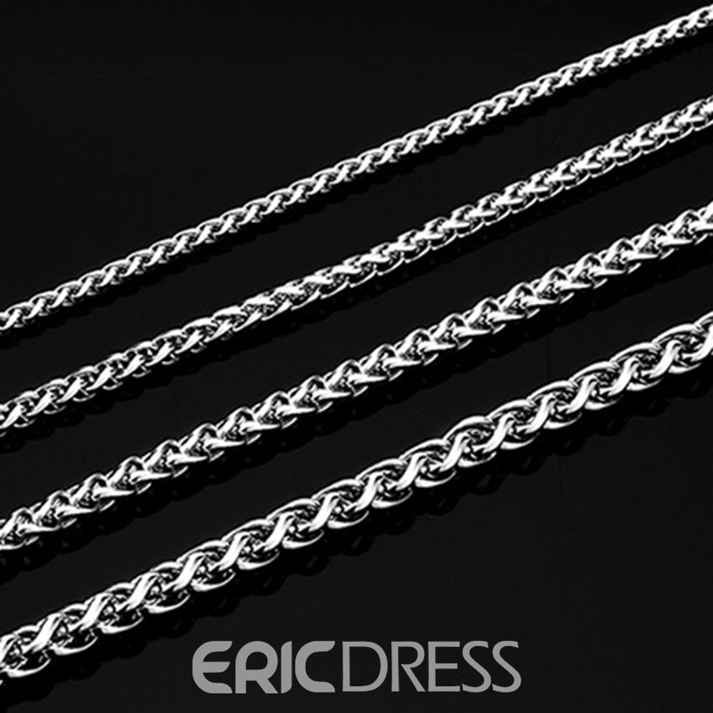 EricdressTitanium Steel Necklace