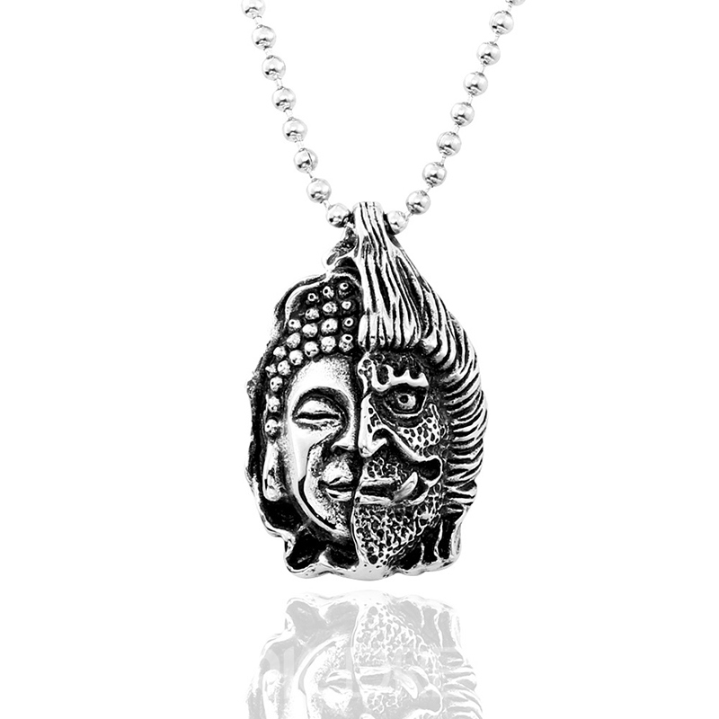 Ericdress Devil Titanium Steel Necklace