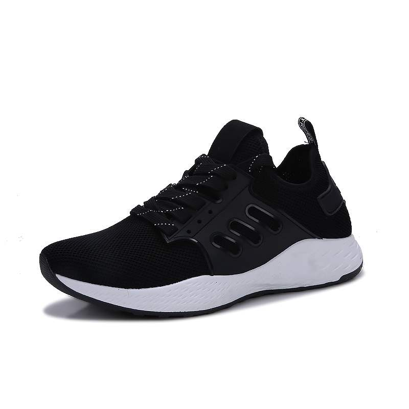 Ericdress Mesh Lace-Up Low-Cut Casual Men's Sneakers