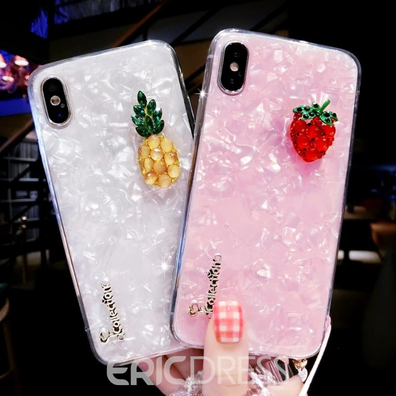 Ericdress Solt Silica Gel Fruits Phone Case