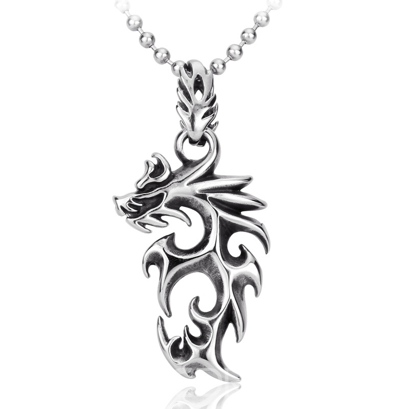 Ericdress Dragon Model Necklace