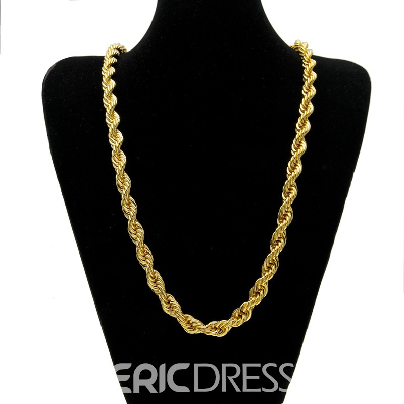 Ericdress Twist Hiphop Men's Necklaces