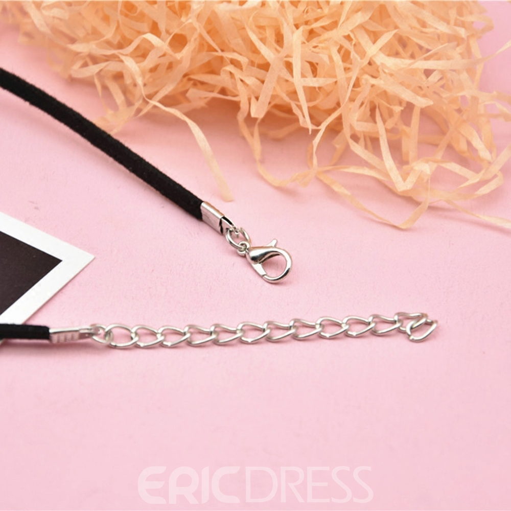 Ericdress Floral Choker Necklace