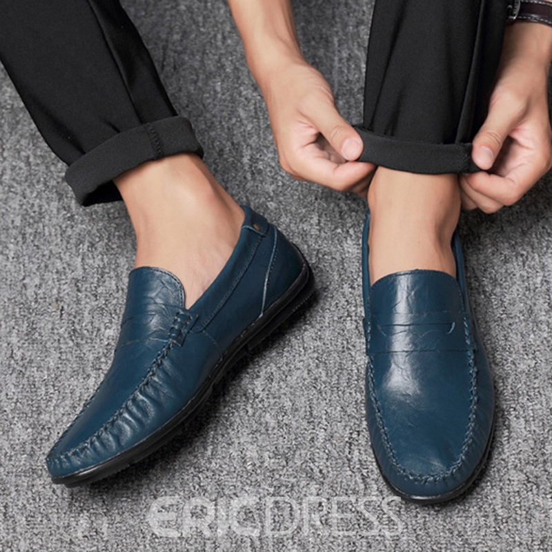 Ericdress PU Professional Slip-On Round Toe Men's Shoes