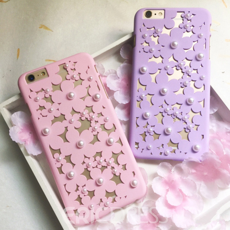 Ericdress Fower Pearl Phone Case
