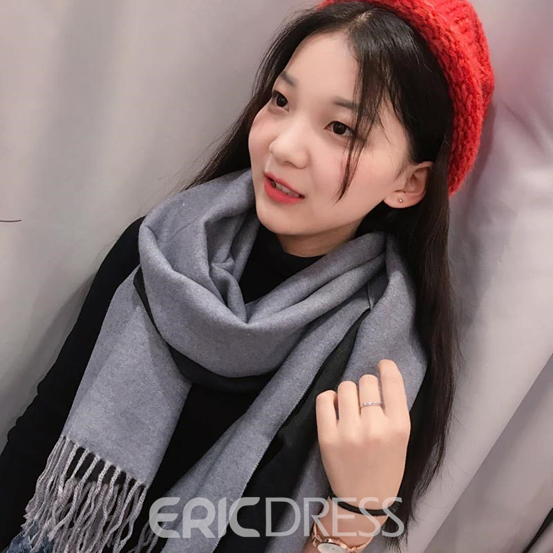 Ericdress Two-Sided Color Scarf