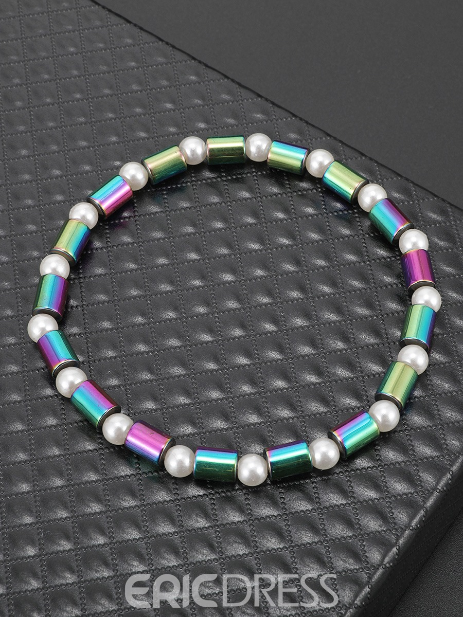 Ericdress Natural Hematite Anklet