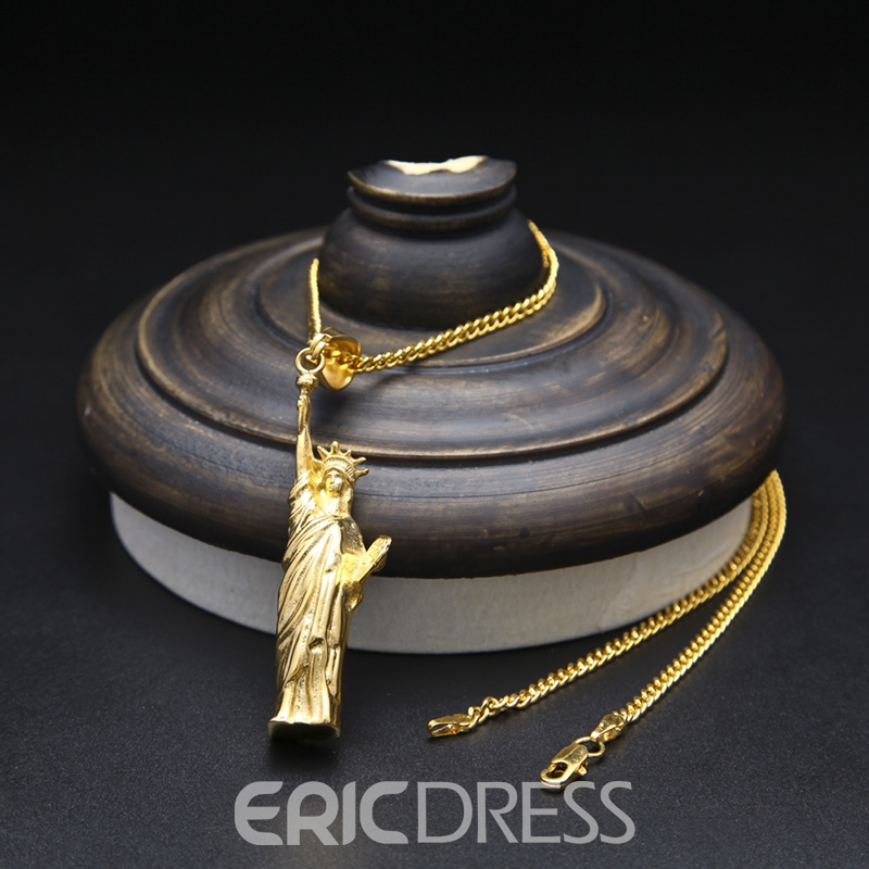 Ericdress Liberty Goddess Necklace