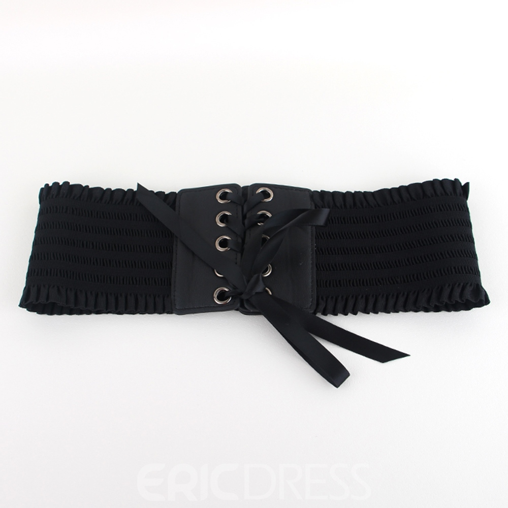 Ericdress Soft Leather Fashion Wide Belt