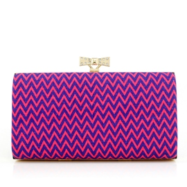 Ericdress Fashion Print Stripe Women Clutch