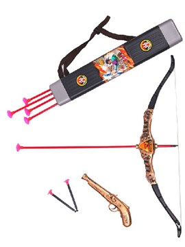 Ericdress Halloween Props Simulation Pirates Bow and Arrow