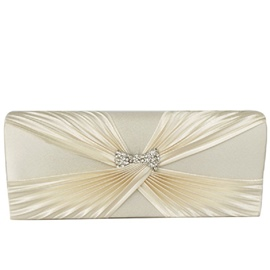 Ericdress Modern Bowtie Magnetic Snap Clutch