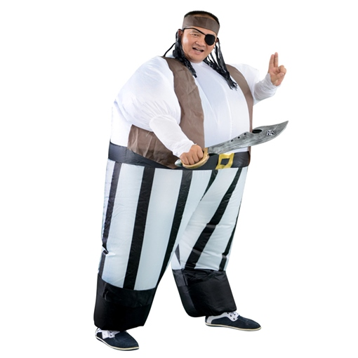 Ericdress Inflatable Pirate Suits Halloween Costume Gift