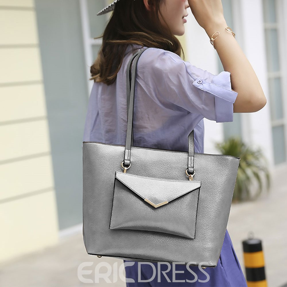 Ericdress PU Tote Bags