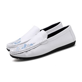 Ericdress Embroidery Low-Cut Upper Men's Casual Shoes