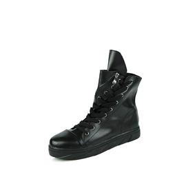 Ericdress Plain Side Zipper Men's Boots
