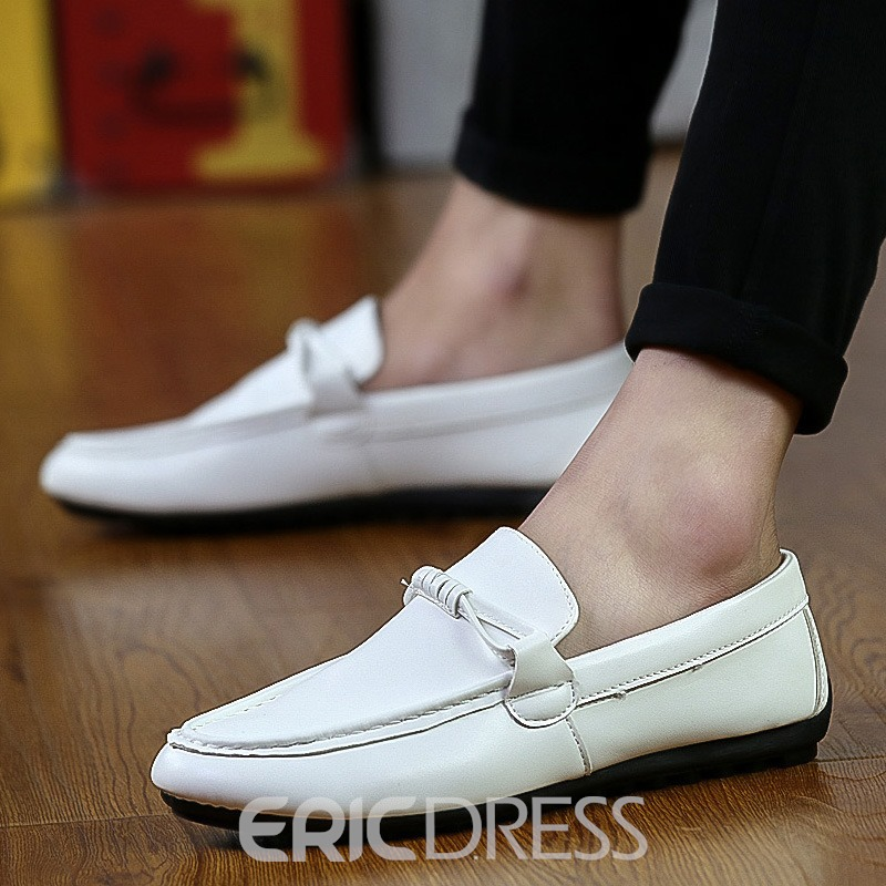 Ericdress Plain Low-Cut Upper Men's Loafers