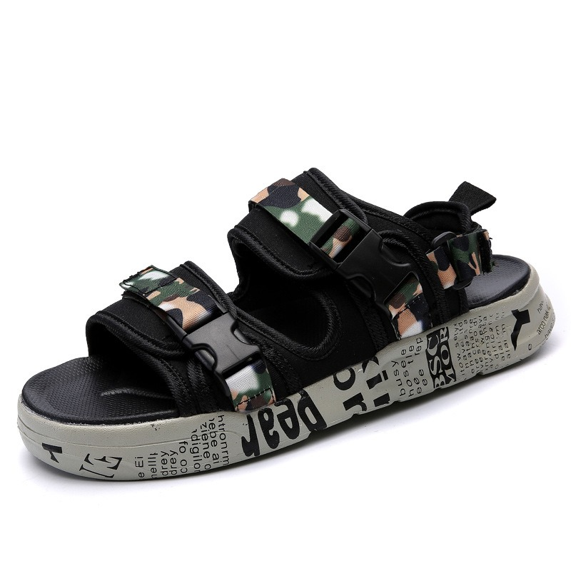 Ericdress Cloth Camouflage Men's Sandals