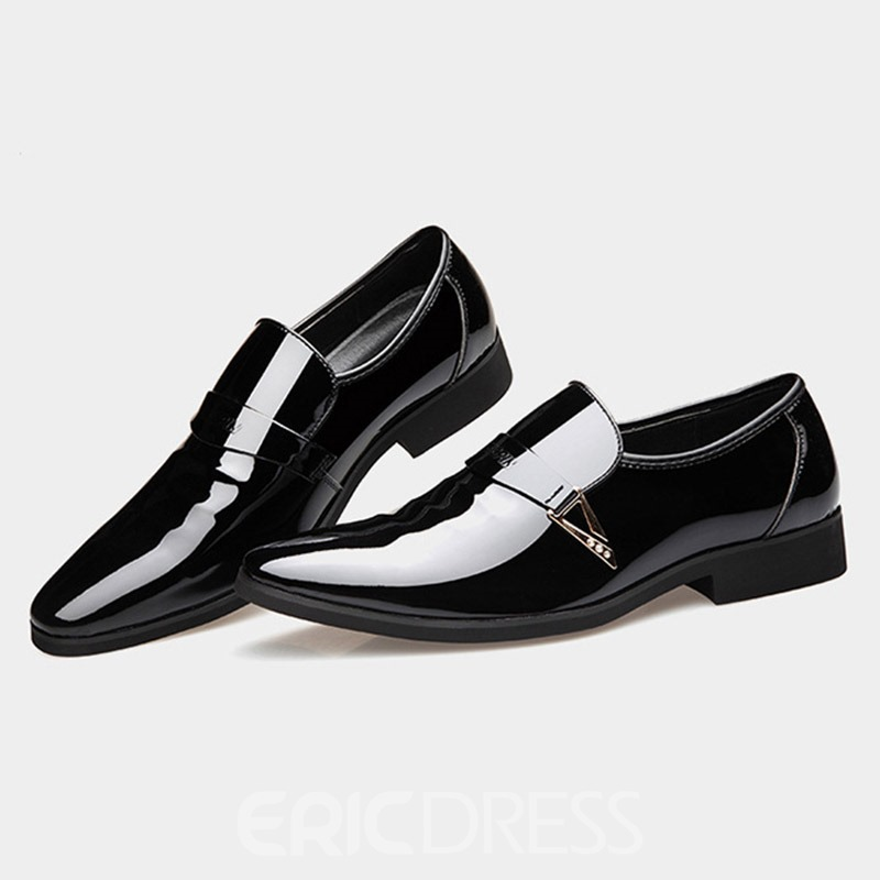 Ericdress PU Sequin Slip-On Men's Oxford Shoes