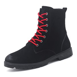 Ericdress Round Toe Side Zipper Men's Martin Boots